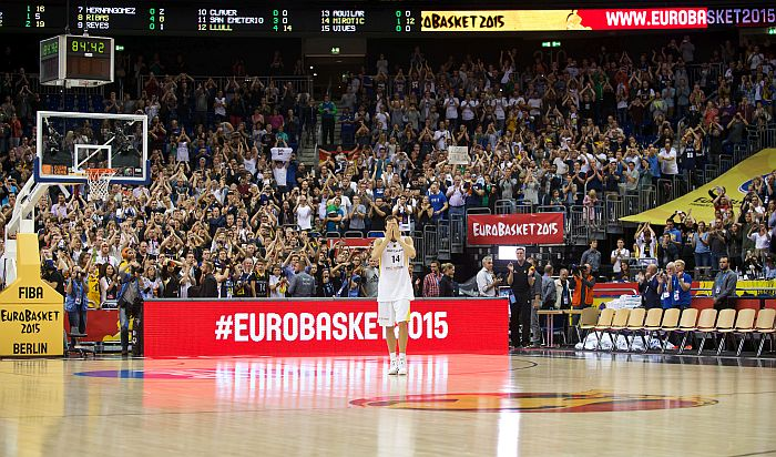 Basketball Eurobasket GER vs ESP
