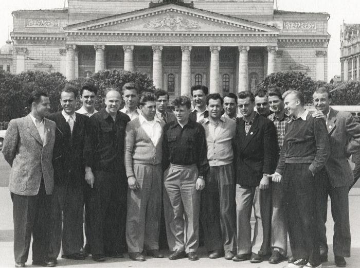 EM1953-gesamtdeutsche Mannschaft-700